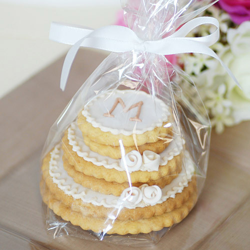 Wedding Cookie Cakes  Unxia Personalized Stacked Wedding Cookie Cake