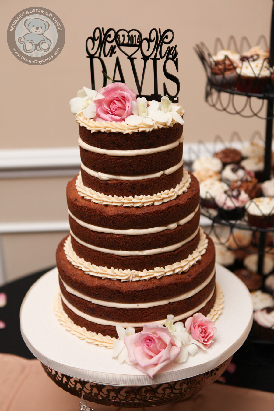 Wedding Cookie Cakes  cookie cake wedding cake