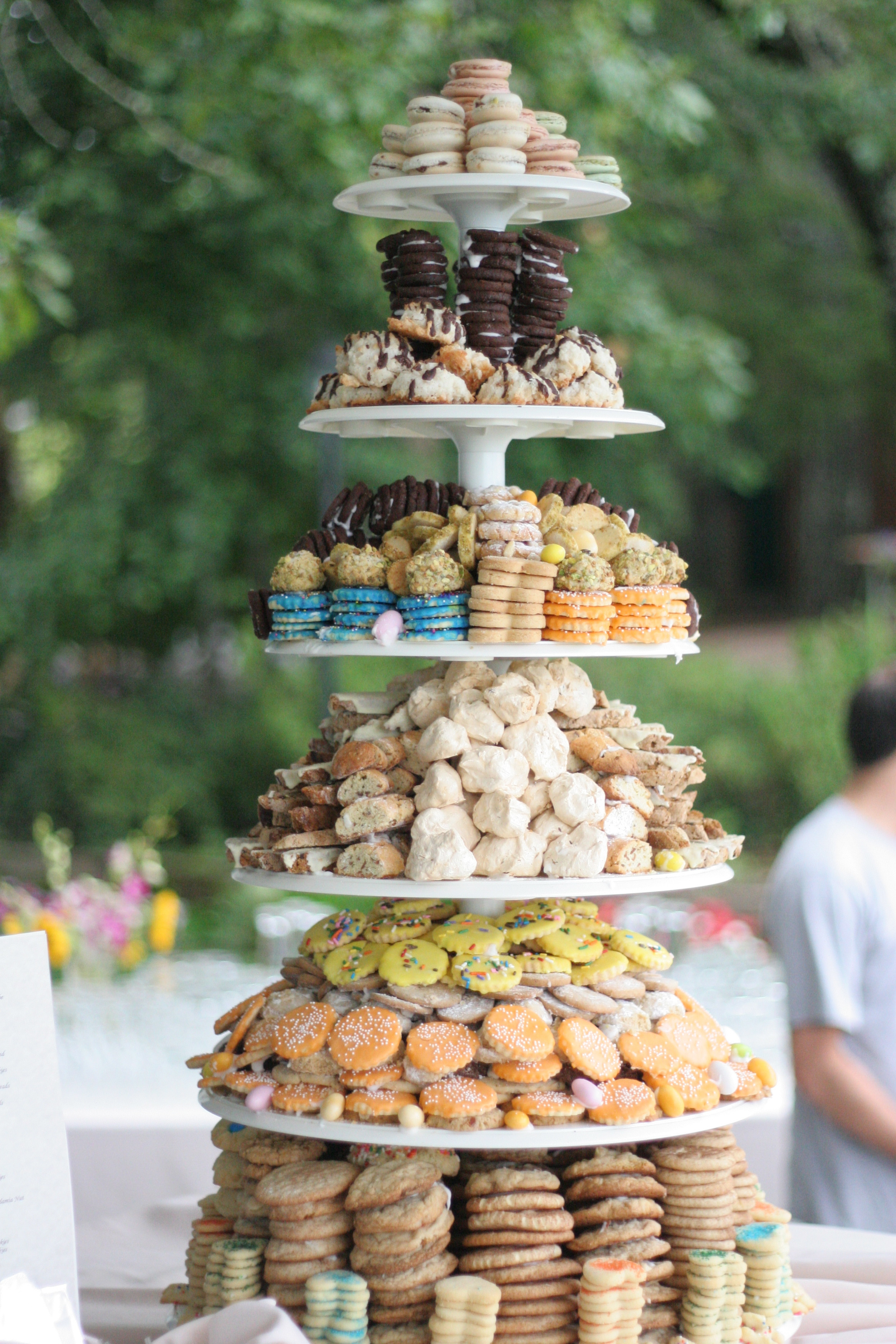 Wedding Cookie Cakes  The Wedding Cookie Tower