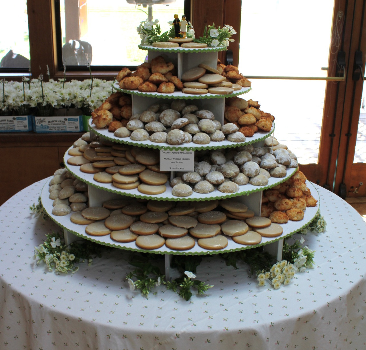 Wedding Cookie Cakes  Wedding Cake Alternatives The I Do Moment