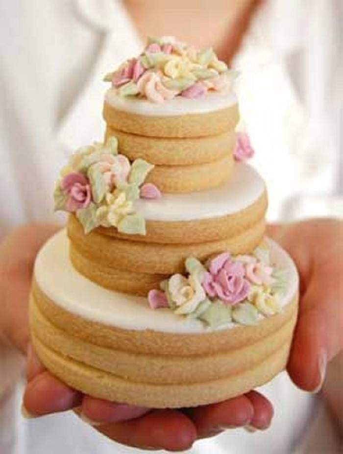 Wedding Cookie Cakes  Tuesday Trends Let Them not Eat Cake The Dandelion