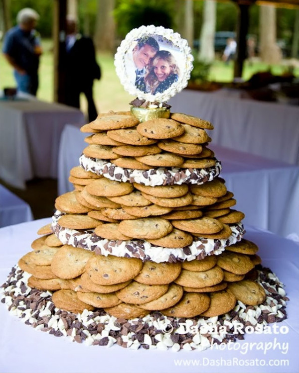 Wedding Cookie Cakes  Wedding Cakes