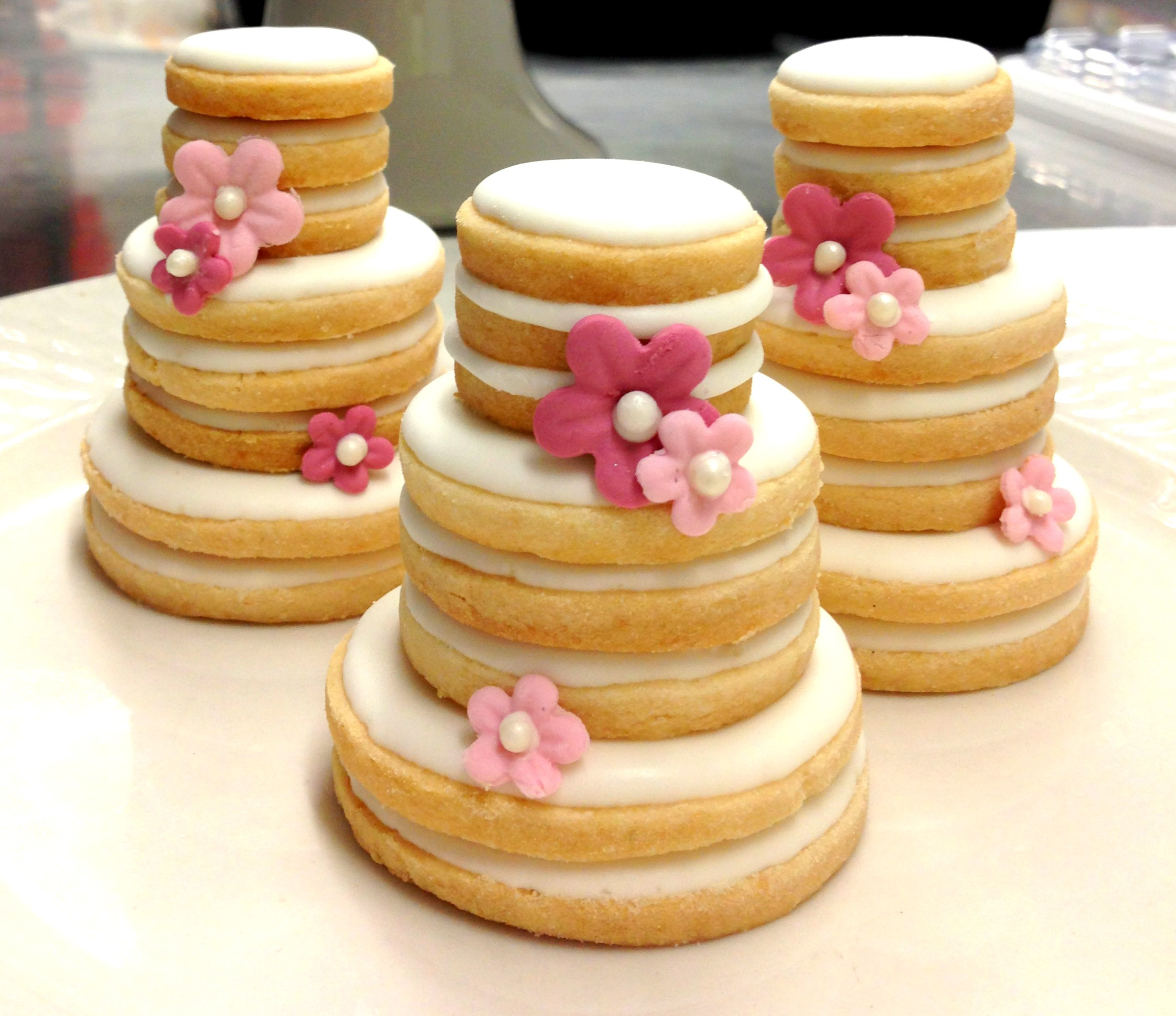 Wedding Cookie Cakes  Weddings & Bridal Showers
