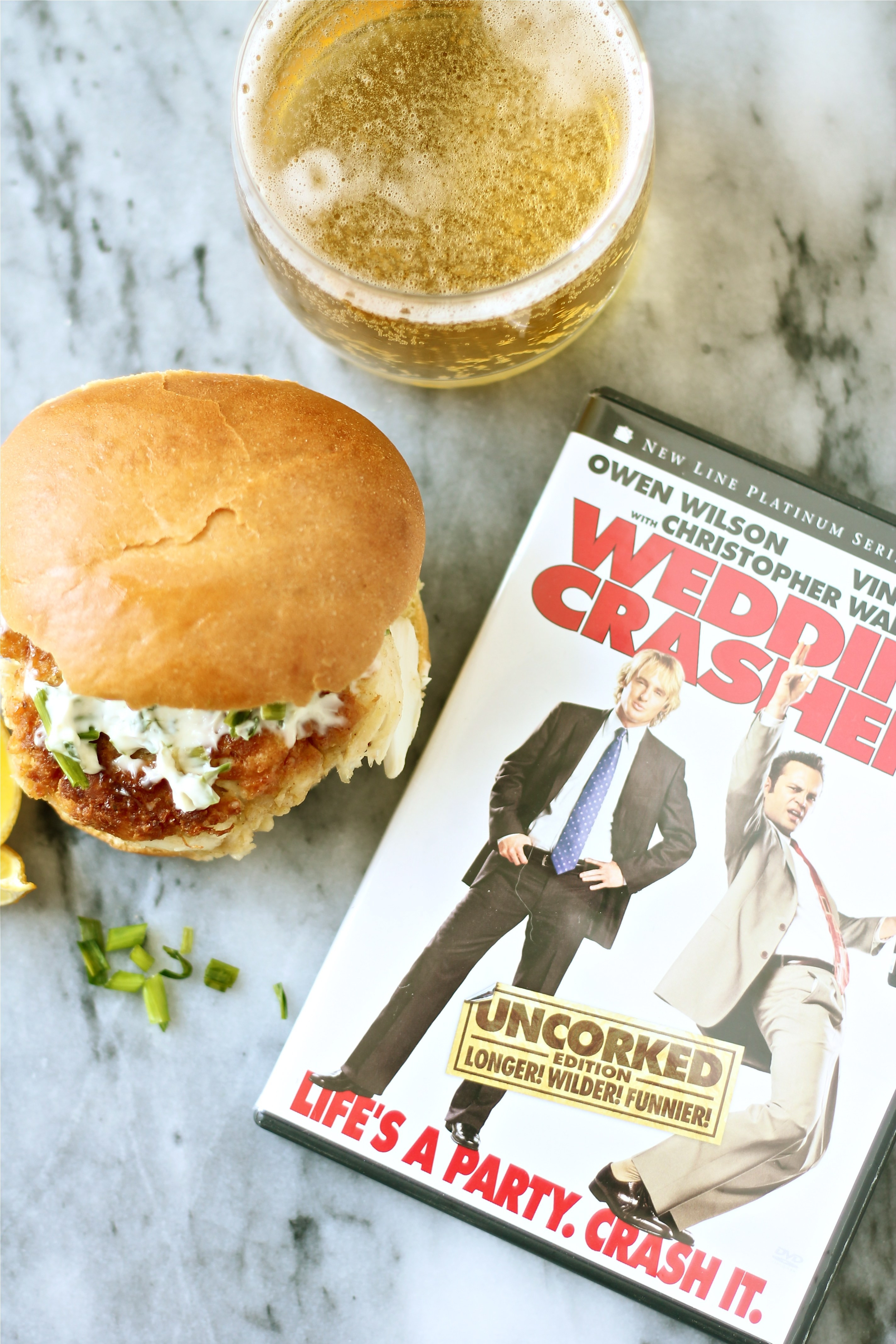 Wedding Crashers Crab Cakes  Dinner in the Movie Wedding Crashers