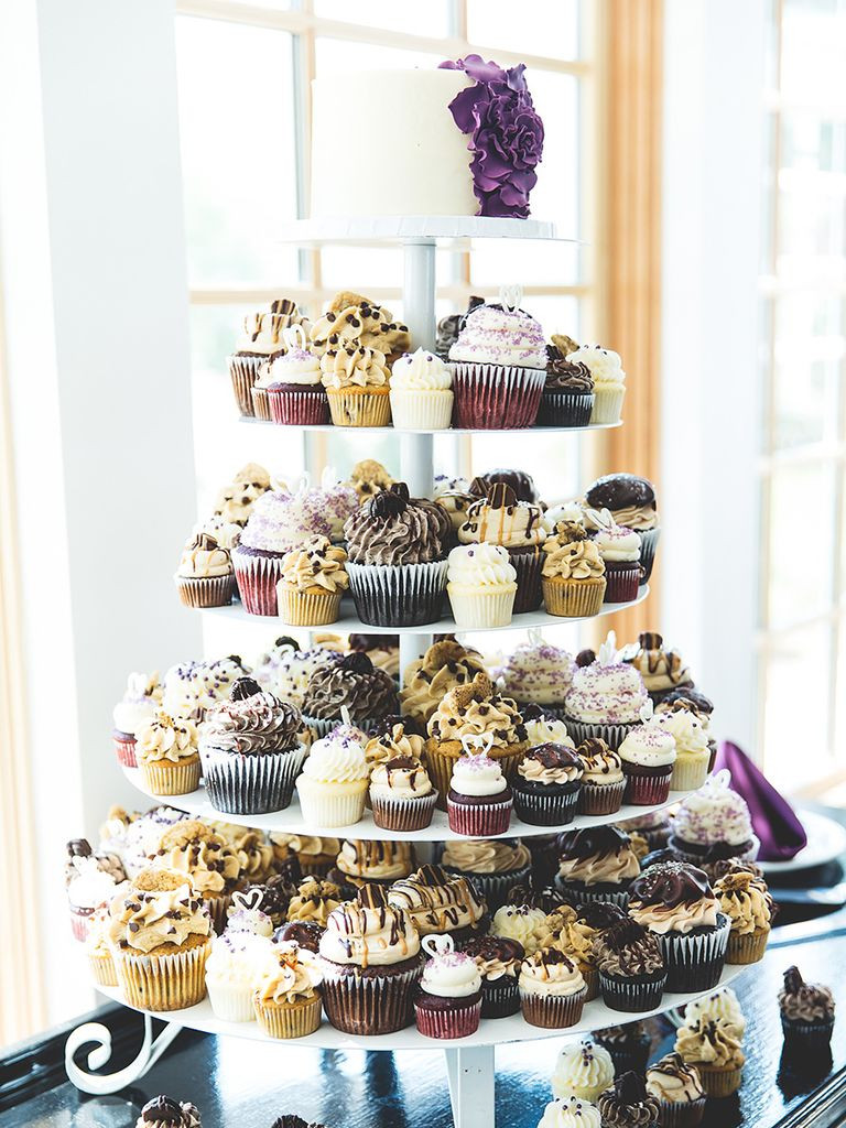 Wedding Cup Cakes  16 Wedding Cake Ideas With Cupcakes