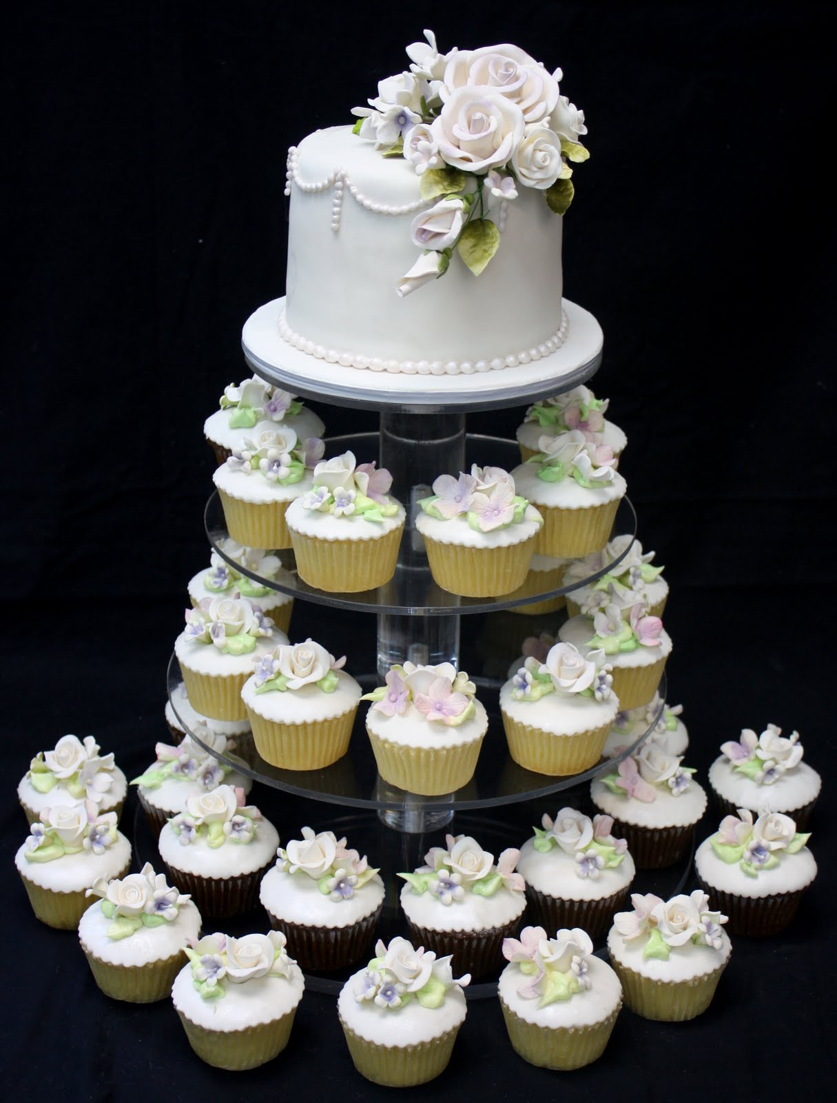 Wedding Cup Cakes  plete Deelite Our Latest Cupcake Towers