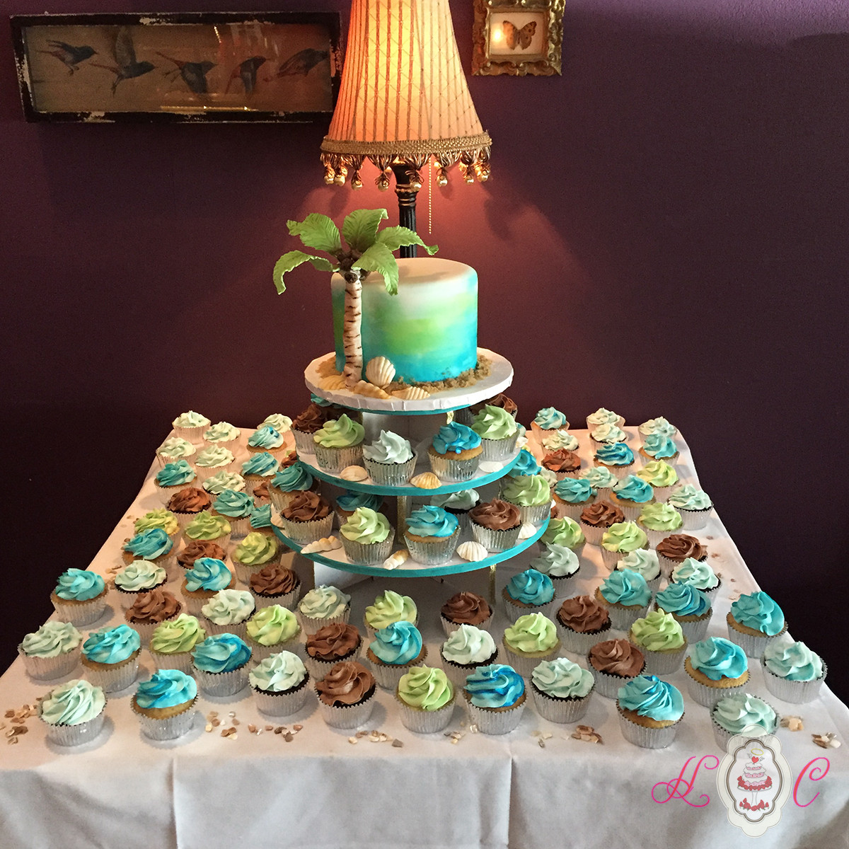 Wedding Cup Cakes  Wedding Cakes in Marietta Parkersburg & More Heavenly