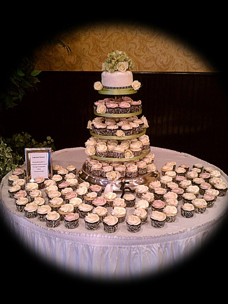 Wedding Cup Cakes Pictures  Cupcake Tiered Wedding Cake A Sweet Alternative