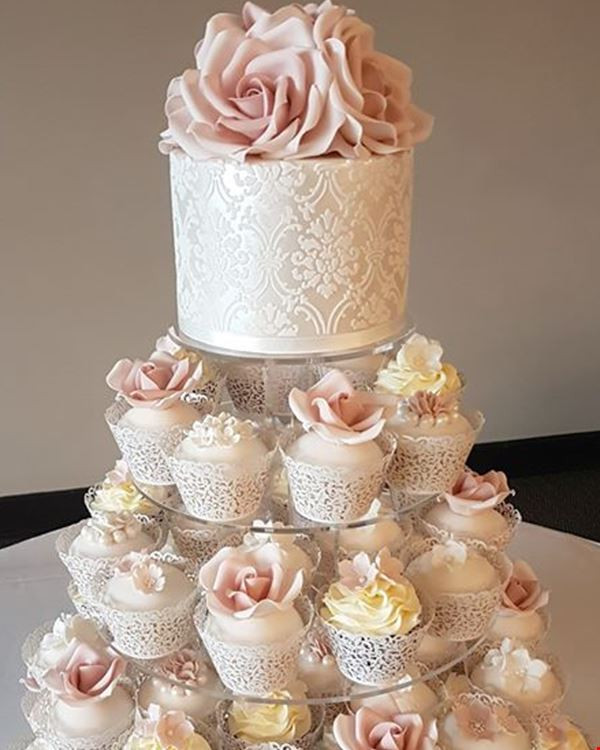 Wedding Cup Cakes Pictures  Cupcake Elegance