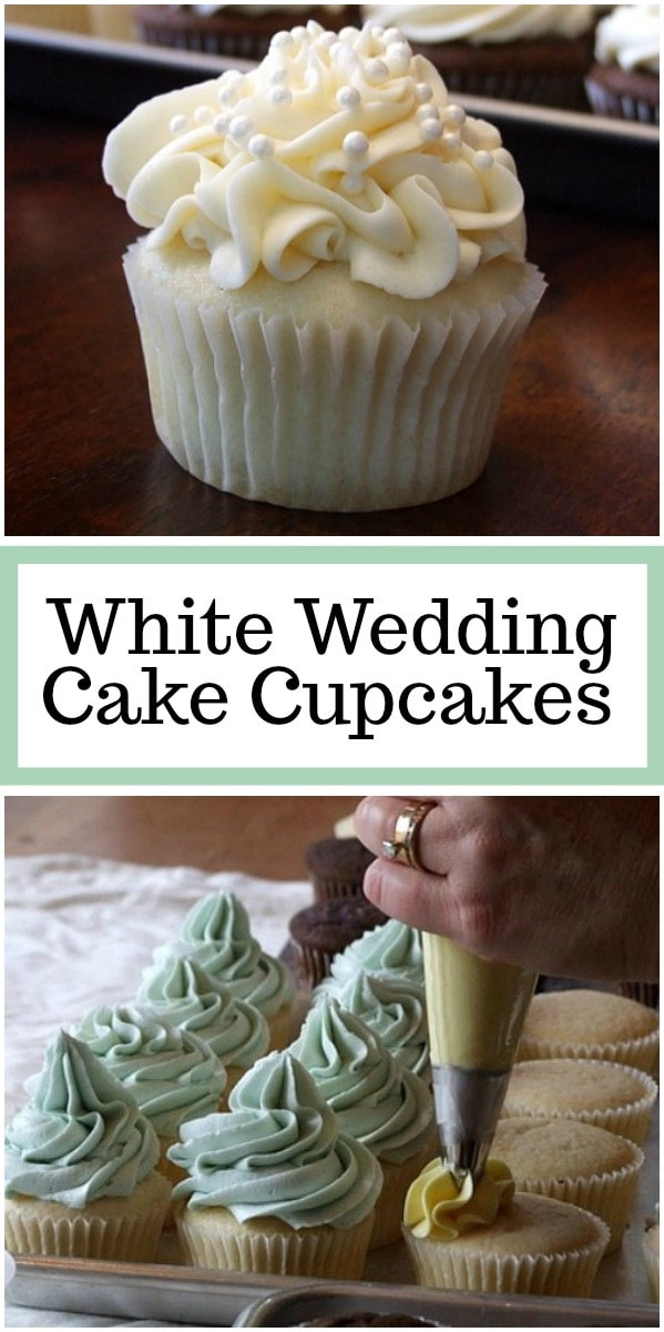 Wedding Cup Cakes Recipes  White Wedding Cake Cupcakes Recipe Girl