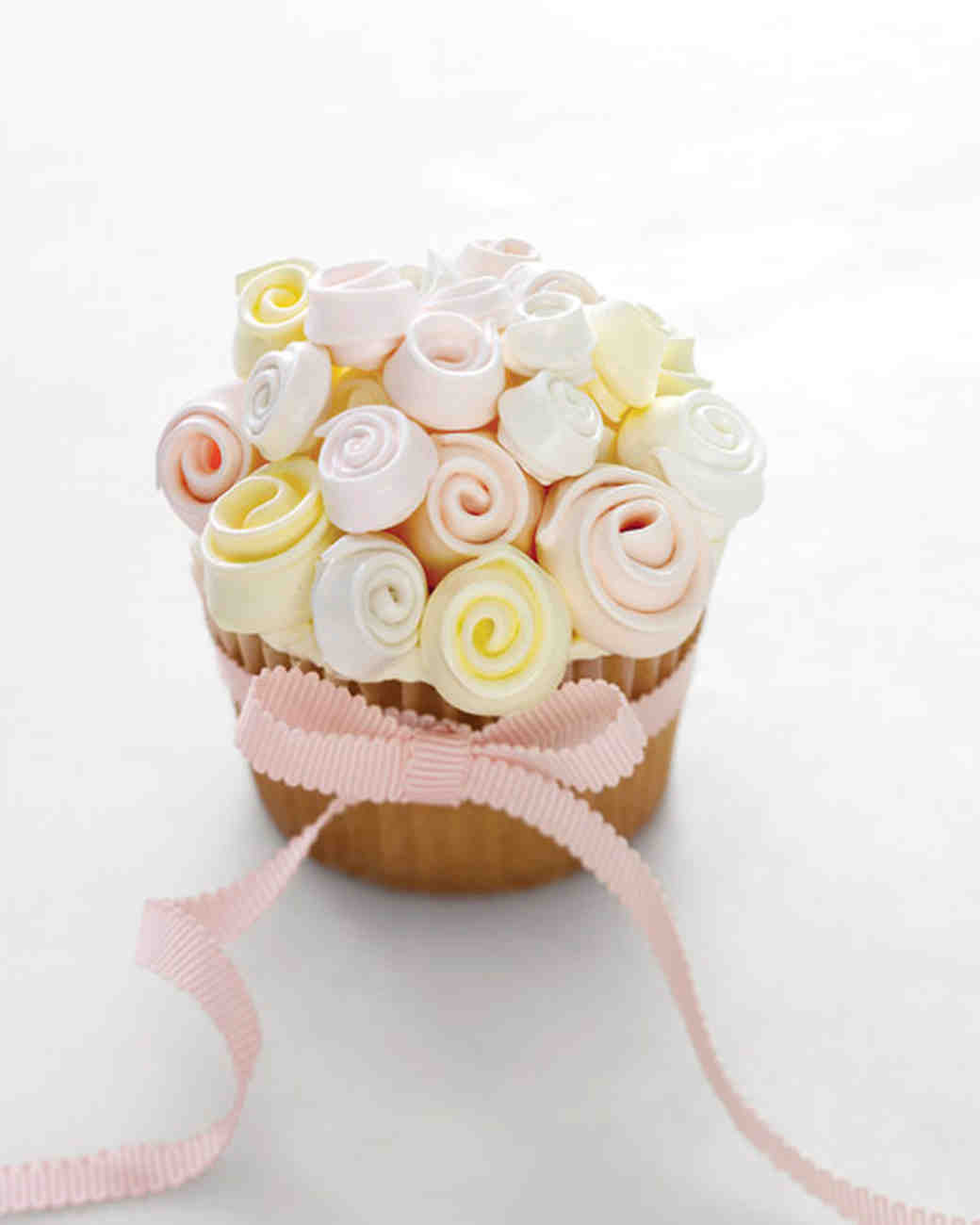 Wedding Cup Cakes Recipes  Swiss Meringue Buttercream for Meringue Bouquet Cupcakes