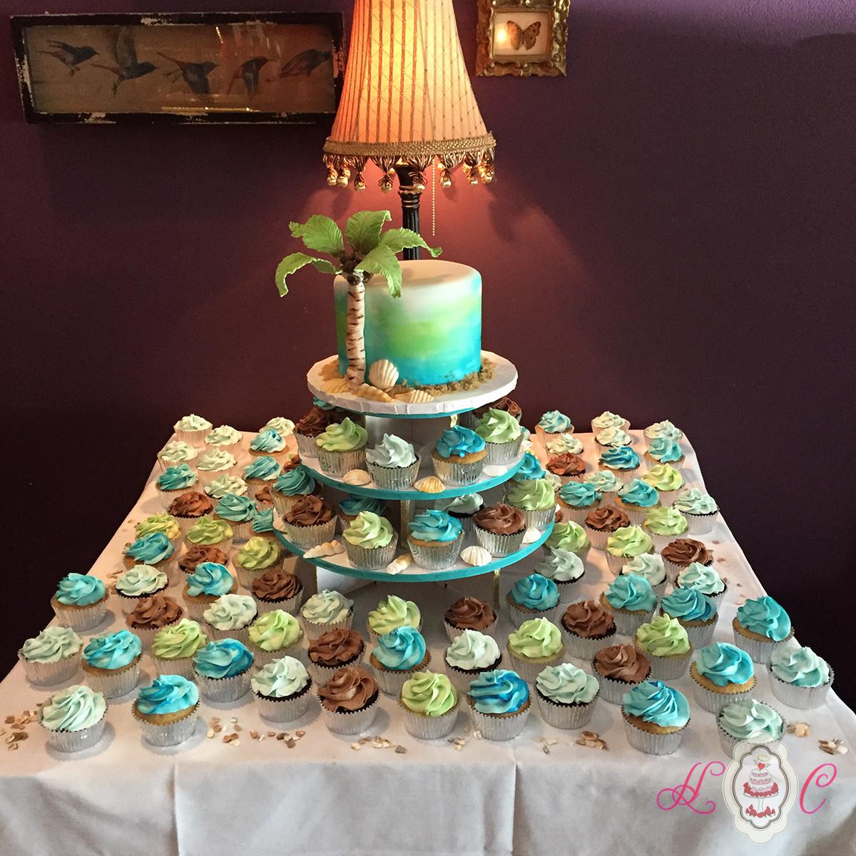 Wedding Cupcake Cakes  Wedding Cakes in Marietta Parkersburg & More Heavenly