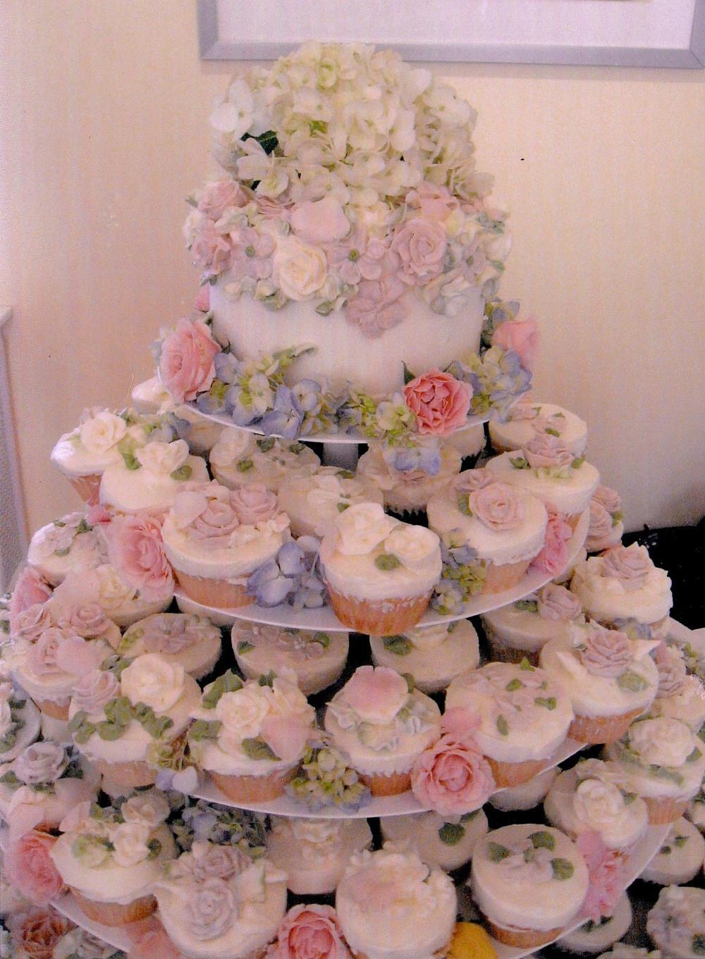 Wedding Cupcake Cakes  Cupcakes DC Bakery Bethesda MD Maryland Washington DC