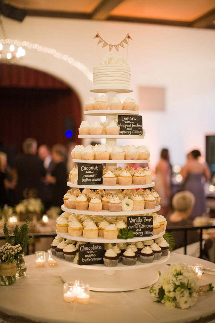 Wedding Cupcake Cakes Designs  Cupcake Wedding Cakes Mon Cheri Bridals