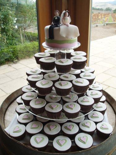 Wedding Cupcake Cakes Designs  Delicious Wedding Cake Cupcakes Ideas