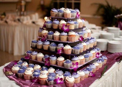 Wedding Cupcake Stand For 100 Cupcakes  Dress My Cupcake Laila 5 Tier Square Cardboard