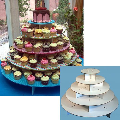 Wedding Cupcake Stand For 100 Cupcakes  Wedding Cupcake Stand For 100 Cupcakes