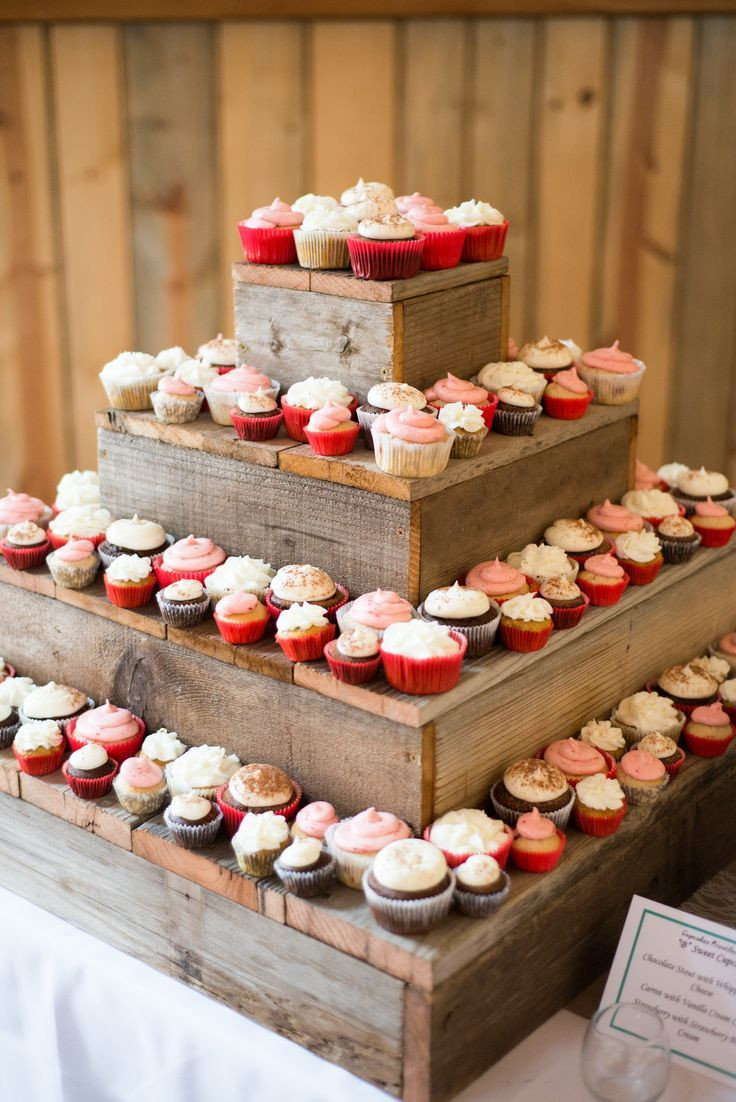 Wedding Cupcake Stand For 100 Cupcakes  1000 ideas about Wood Cupcake Stand on Pinterest