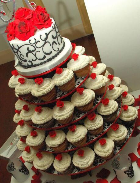 Wedding Cupcake Stand For 100 Cupcakes  Cupcake Stand 100 Cupcakes Jusalpha 7 tier Acrylic
