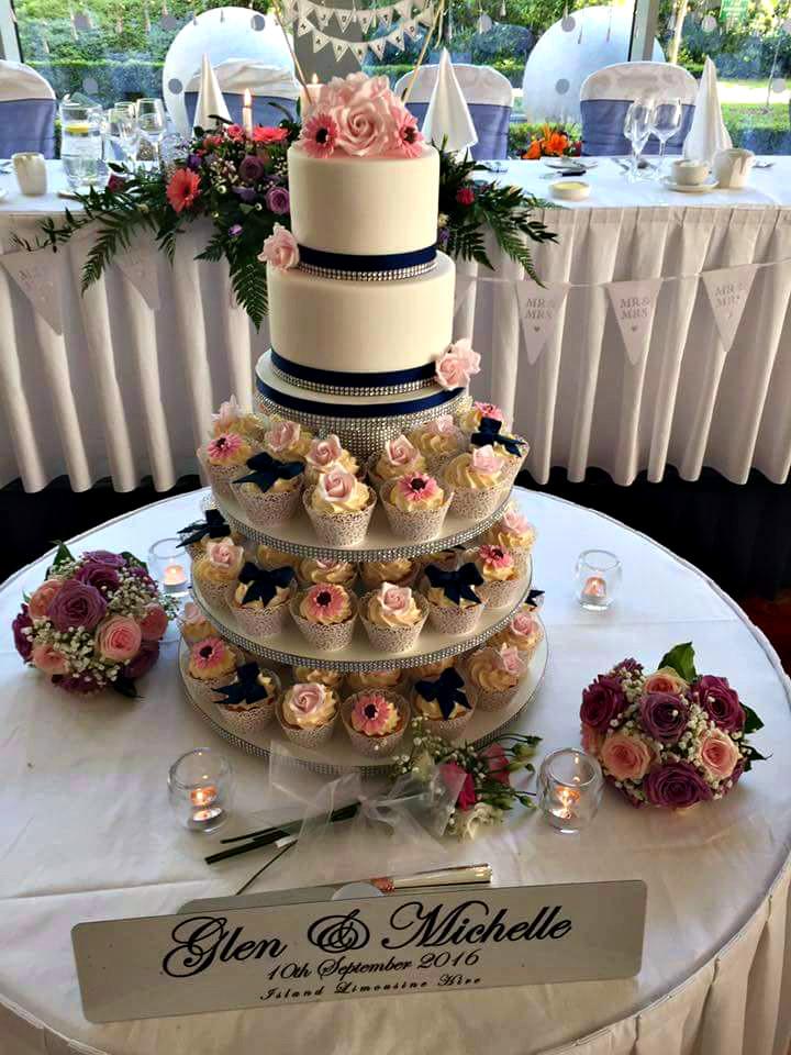 Wedding Cupcakes Pictures  Wedding Cake Designs Sligo Leitrim & Donegal