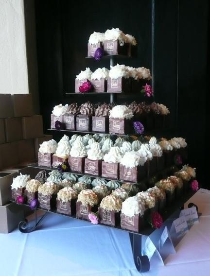 Wedding Cupcakes San Diego  Cupcake Squared Wedding Cake San Diego CA WeddingWire