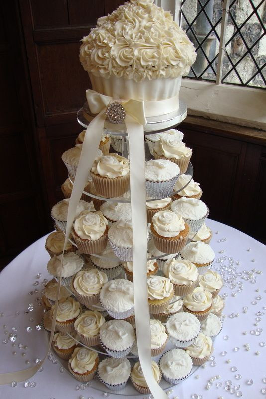 Wedding Cupcakes Towers  Marché Wedding Philippines Wedding Cupcake Tower Ideas