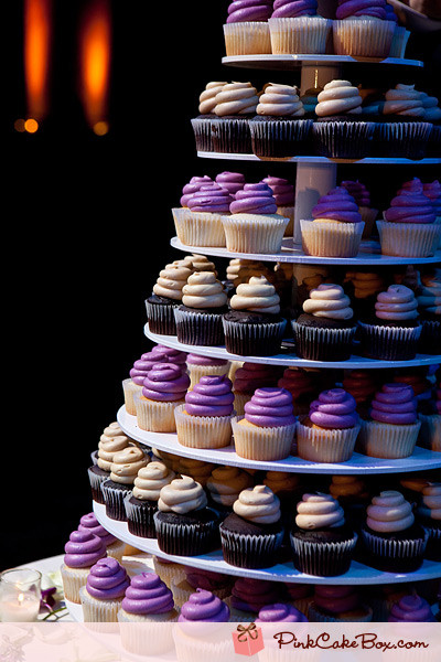 Wedding Cupcakes Towers  Multi tier Wedding Cupcake Tower Wedding Cupcake Stands