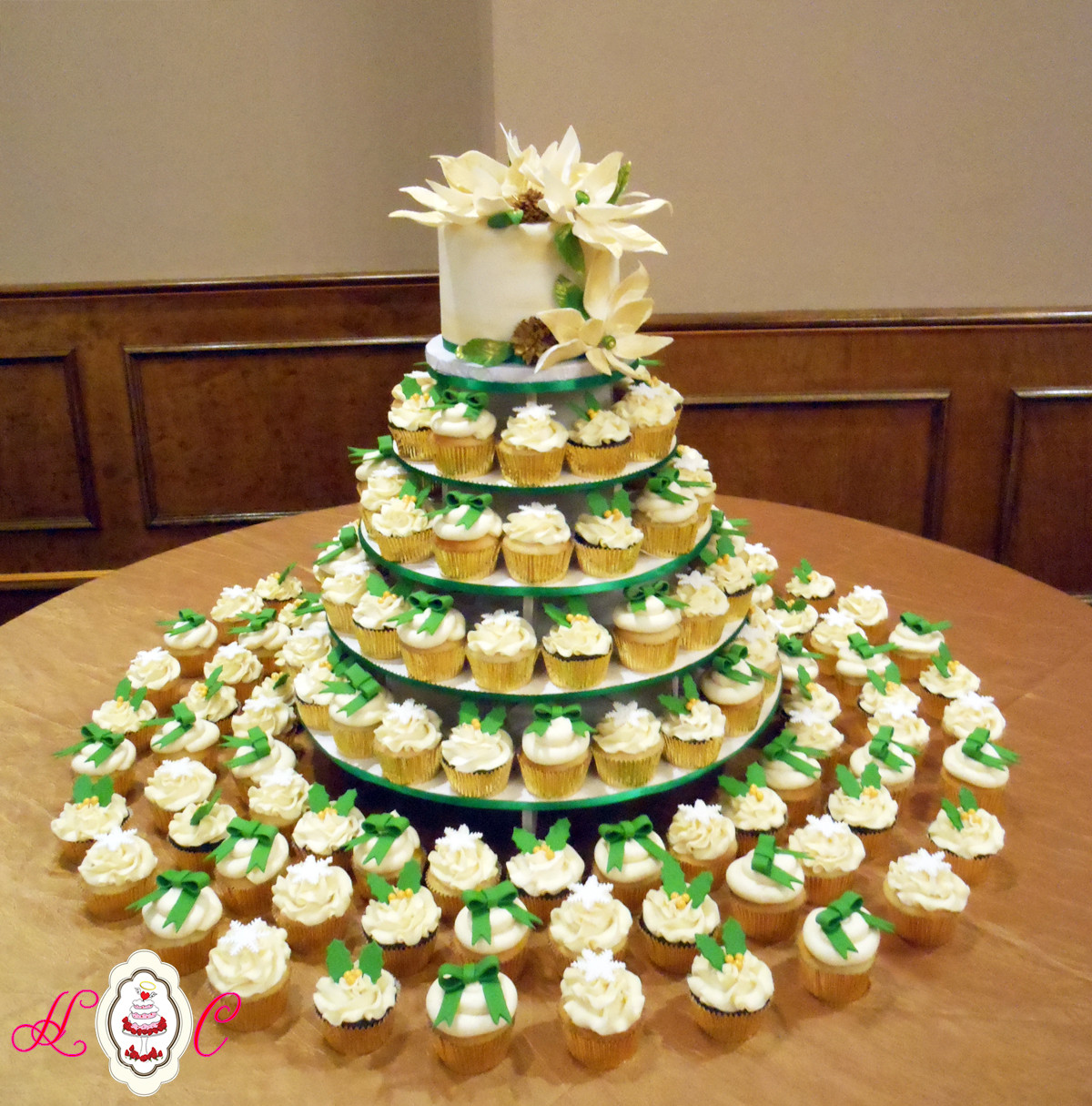 Wedding Cupcakes Towers  Wedding Cakes in Marietta Parkersburg & More Heavenly