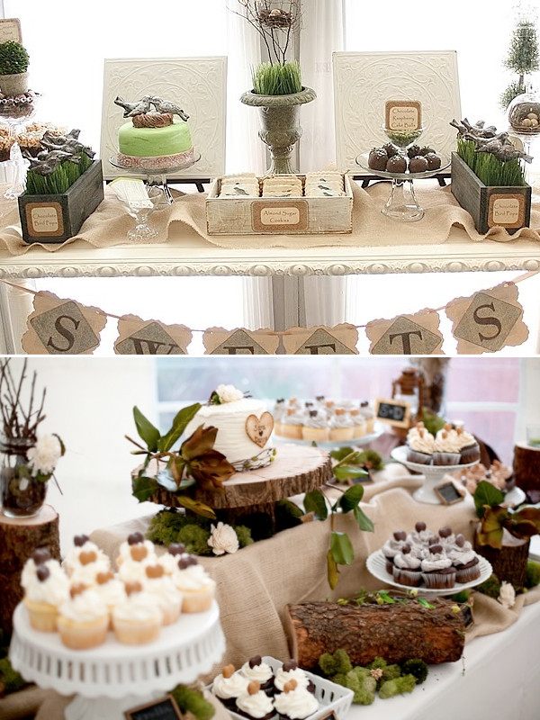 Wedding Dessert Bar Ideas  Unique Rustic Wedding Ideas Weddings By Lilly