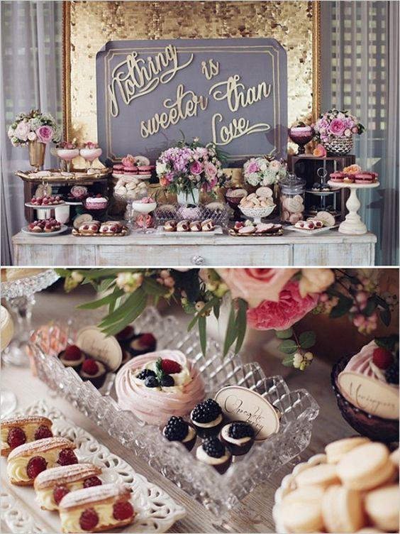 Wedding Dessert Bar Ideas  Wedding Dessert Table Ideas that will Blow your Mind