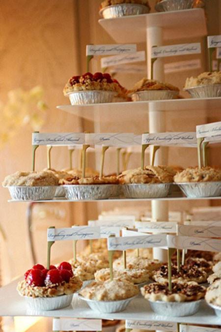 Wedding Dessert Bar Ideas  17 Wedding Pie Ideas for your Wedding Day