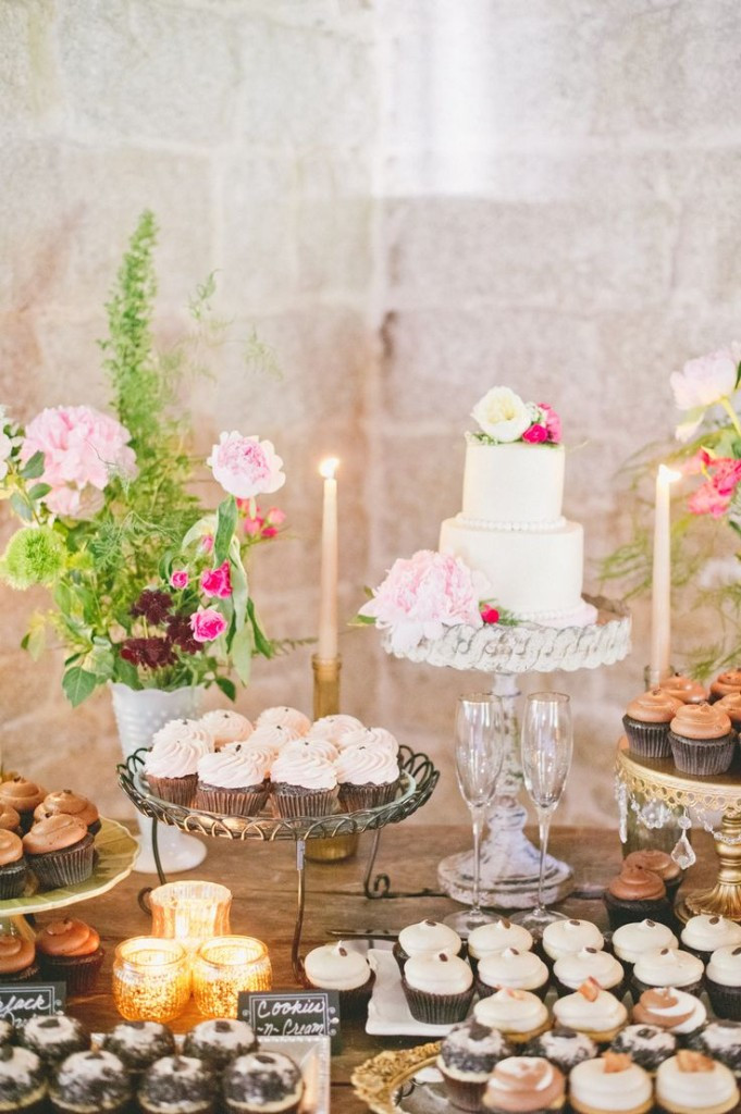 Wedding Dessert Ideas  47 Adorable and Yummy Cupcake Display Ideas for Your