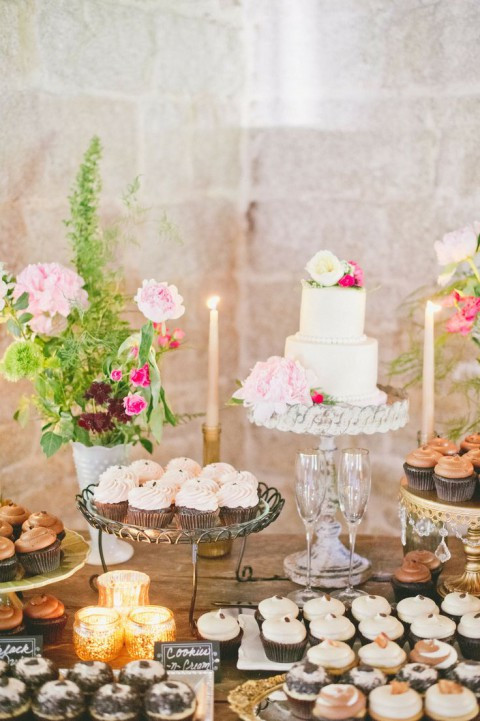 Wedding Dessert Table  92 Beautiful Wedding Dessert Table Ideas