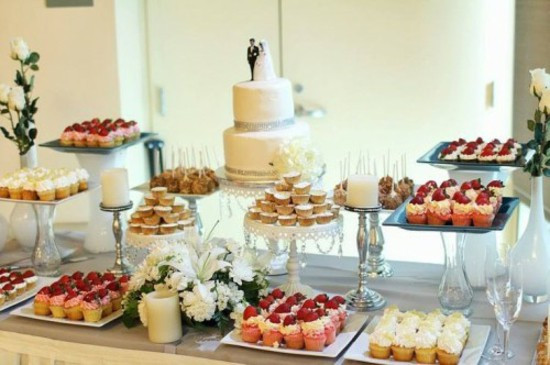 Wedding Dessert Table  Wedding Table Decorating – Cool Decoration Ideas For