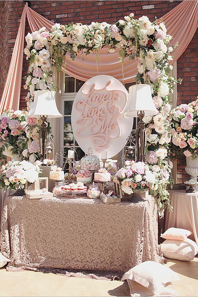 Wedding Dessert Table  Mouthwatering Wedding Dessert Table Decoration