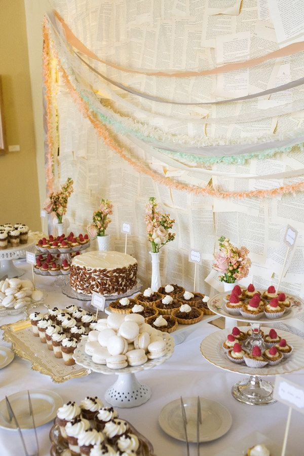 Wedding Dessert Table Ideas  Dessert Table Ideas for Wedding Wedding Philippines
