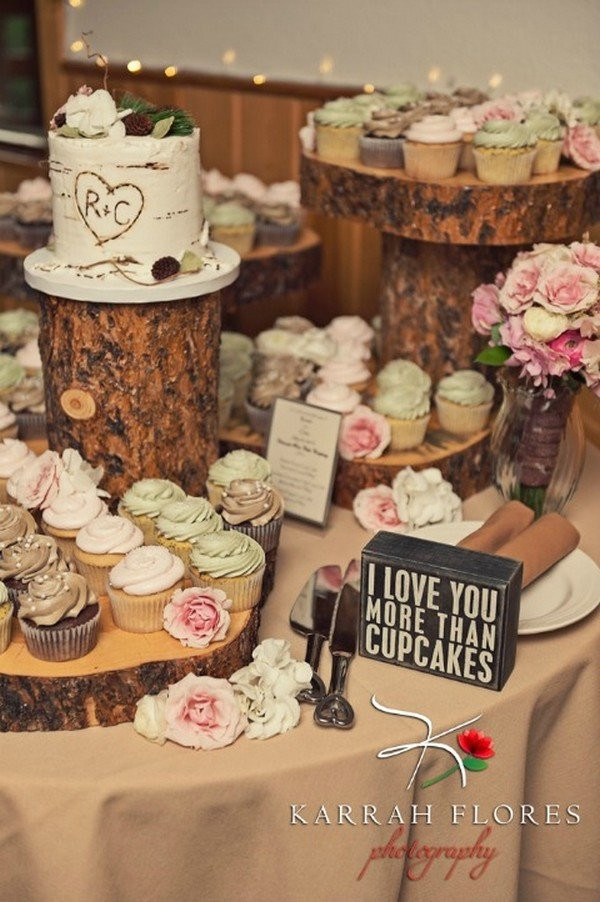 Wedding Dessert Tables Ideas  16 Country Rustic Wedding Dessert Table Ideas Oh Best