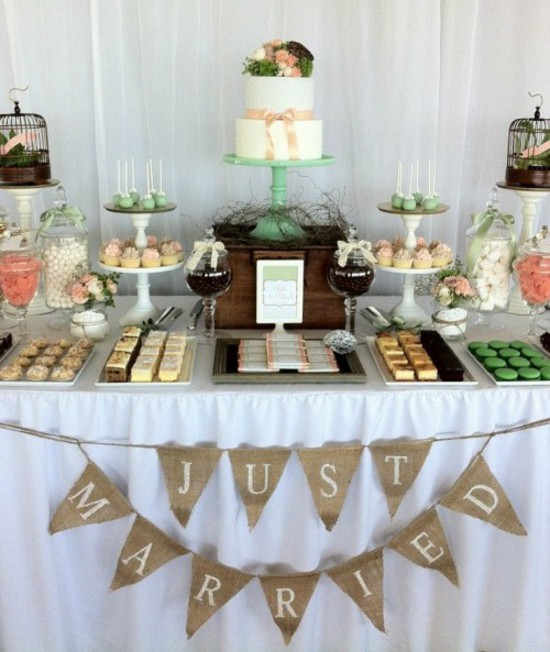 Wedding Dessert Tables Ideas  Wedding Table Decorating – Cool Decoration Ideas For