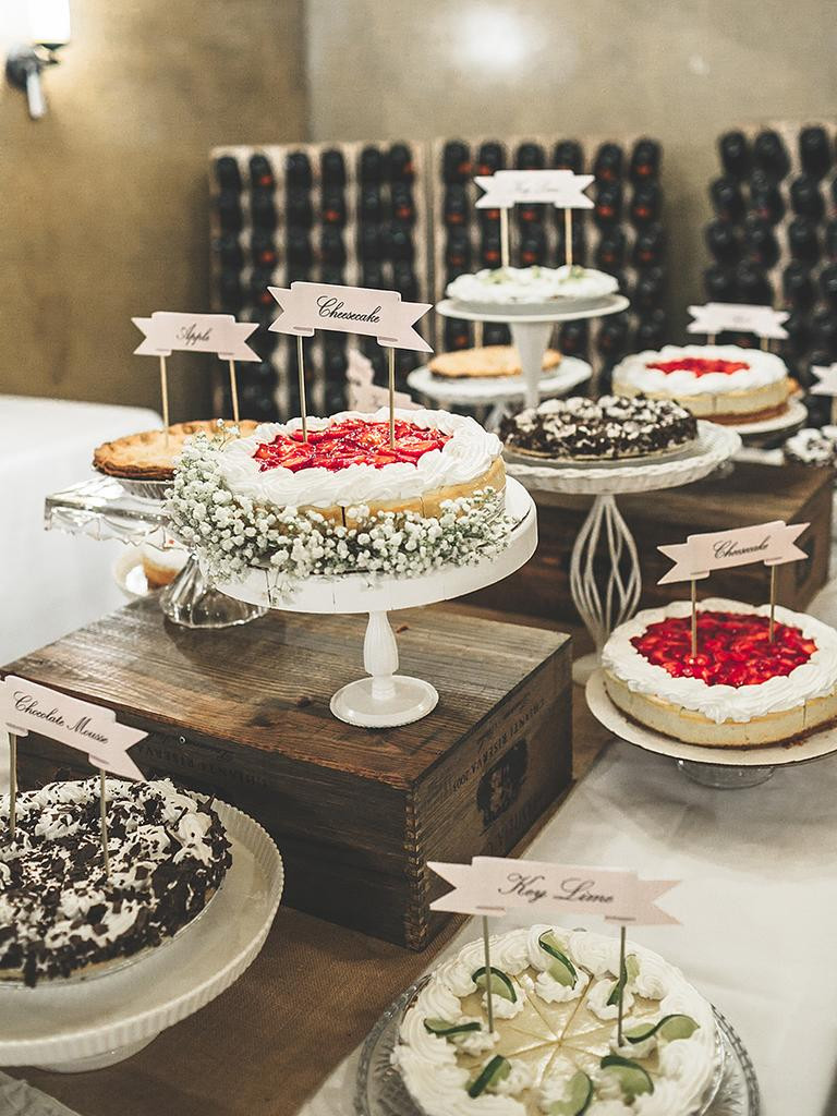 Wedding Desserts Ideas  20 Creative Wedding Dessert Buffet Ideas