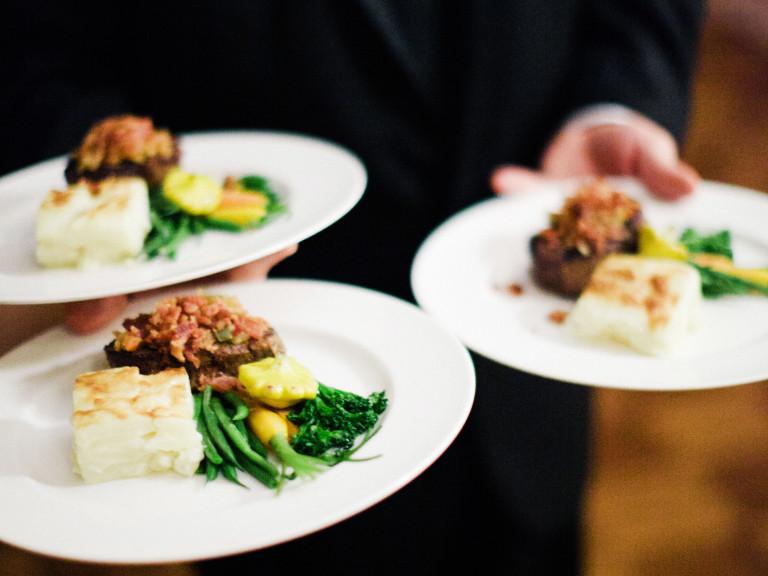 Wedding Dinner Ideas  Buffet Style Vs Plated Wedding Dinner TheBrideBox