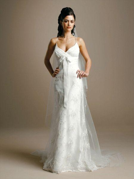 Wedding Dress With Spaghetti Straps  Terrific Spaghetti Strap Wedding Dressing Ideas