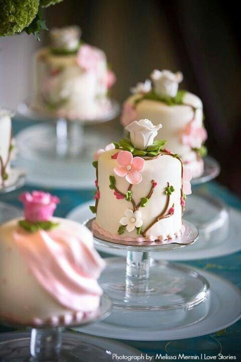 Wedding Miniature Cakes  Body Mind Spirit and STAMPS A Friend Touches Your Heart