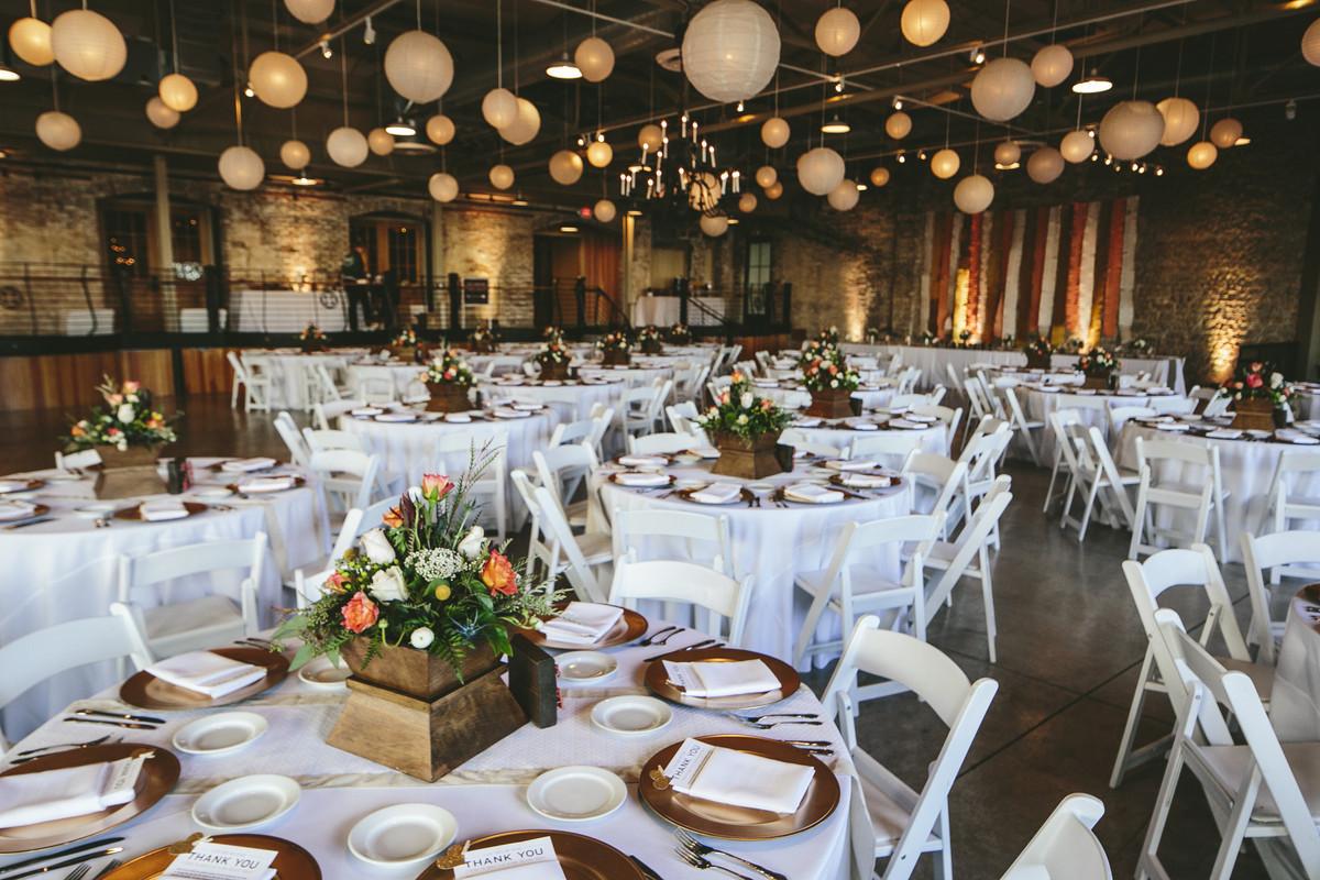 Wedding Reception Dinners  Prairie Street Brewhouse Wedding Ceremony & Reception