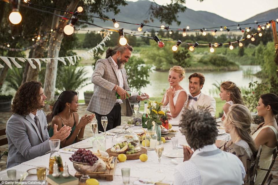 Wedding Reception Dinners  Pinterest 2017 wedding report inspiring bridal trends