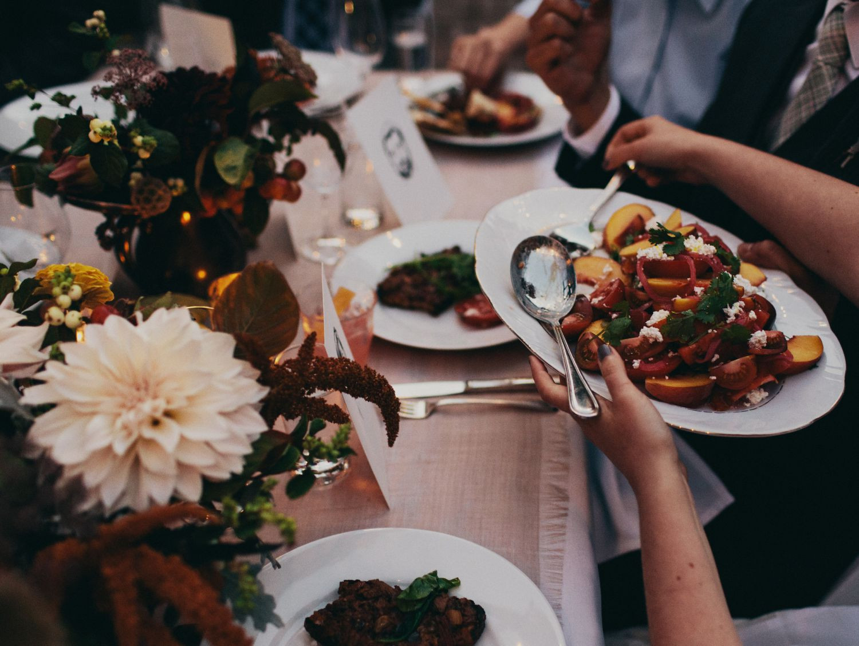 Wedding Reception Dinners  2015 wedding trends PapaKåta teepee and Sperry tents