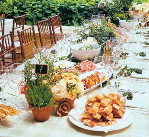 Wedding Reception Dinners  1000 ideas about Family Style Weddings on Pinterest