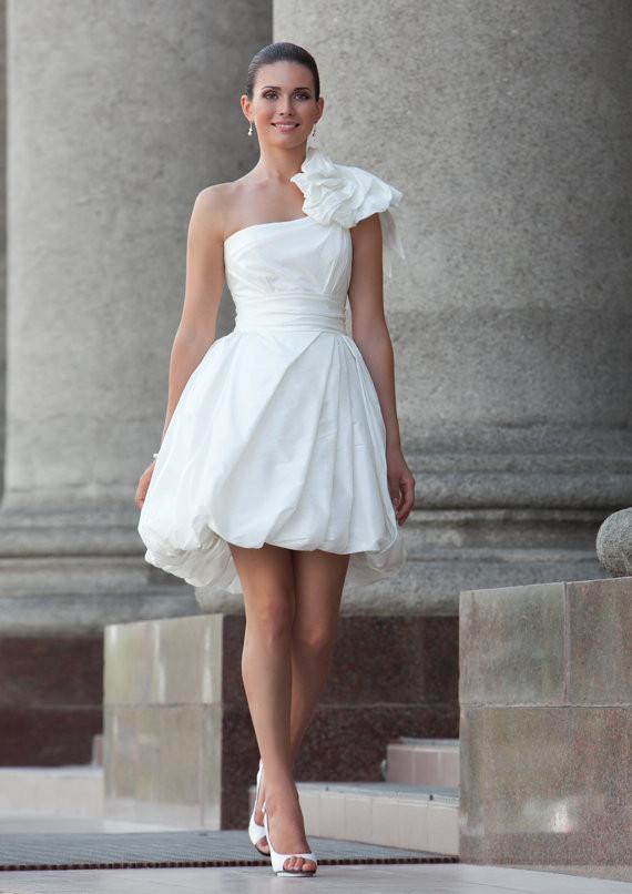 Wedding Rehersal Dinner Dresses  White short dress for rehearsal dinner or from