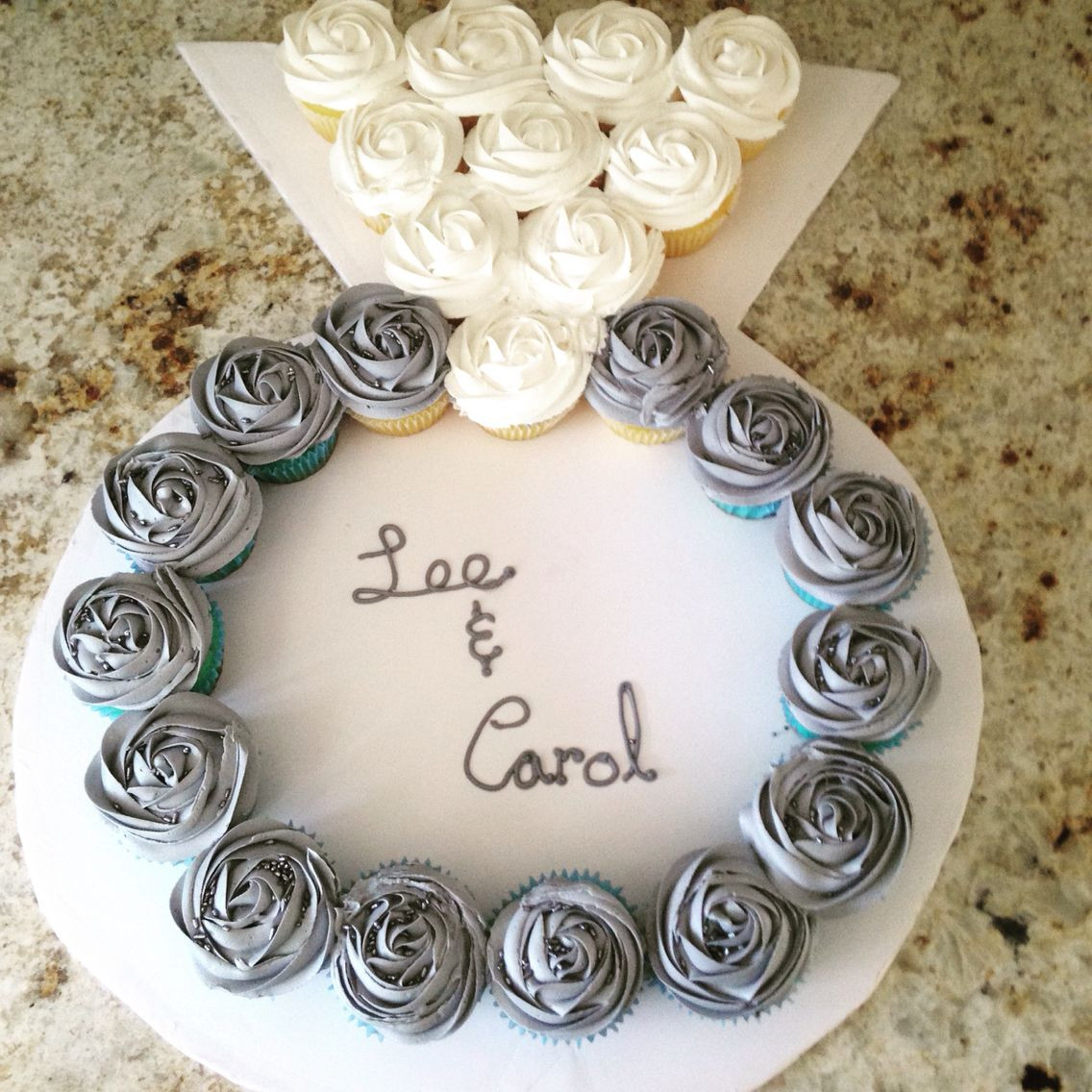 Wedding Ring Cupcakes 20 Of the Best Ideas for Engagement Wedding Party Cupcakes In the Shape Of A Ring