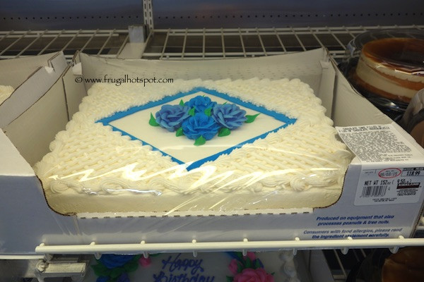 Wedding Sheet Cake Costco  Costco Sheet Cake $18 99