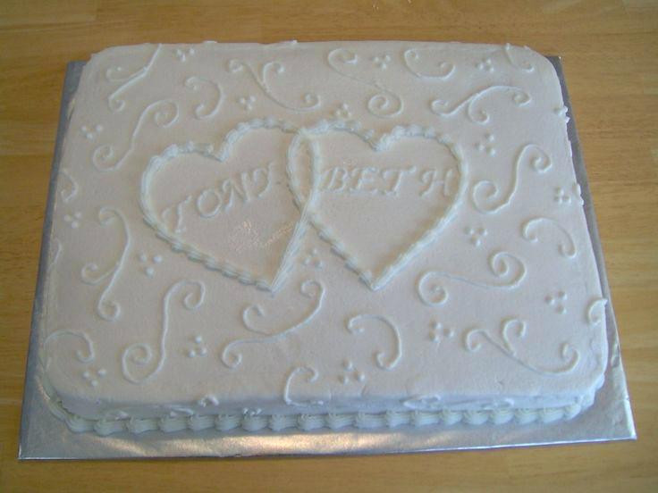 Wedding Sheet Cakes  decorating Wedding sheet cake ideas Summer Dress for